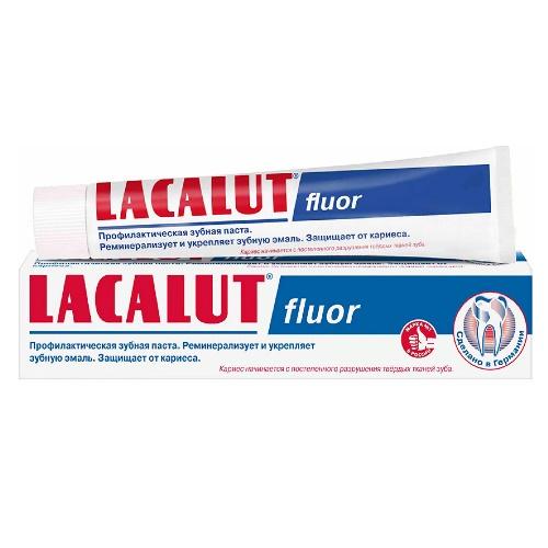 LACALUT Зубная паста Fluor 75 мл (24)