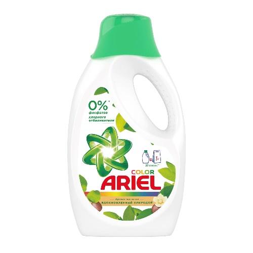 ARIEL Гель для стирки Color Масло ши 1,3 л (4)
