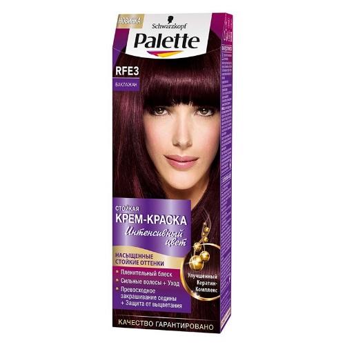 PALETTE Крем-краска для волос Баклажан RFE3 (10)