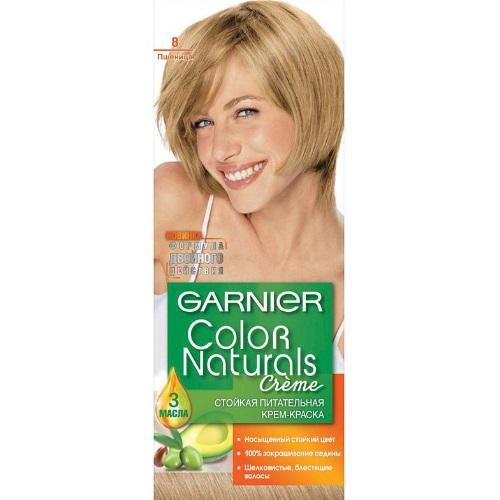 GARNIER Color Naturals Creme Крем-краска для волос № 8 Пшеница