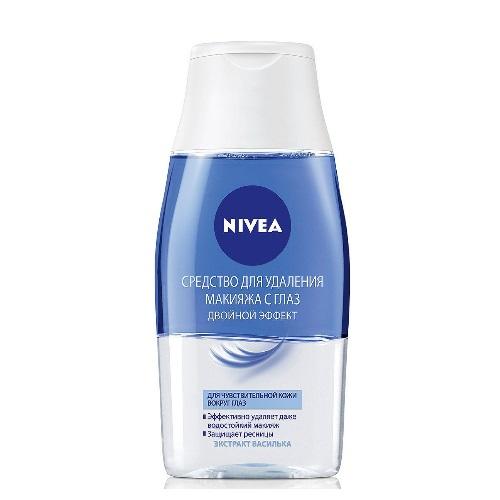 NIVEA Двухфазное средство для снятия макияжа с глаз и губ 125 мл