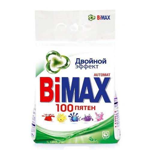 BiMAX Стиральный порошок автомат 100 пятен 3 кг (4)